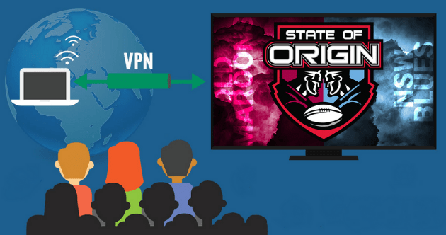 state of origin live online from anywhere